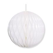 24x luxe glazen gedecoreerde witte kerstballen met streep 7 5 cm